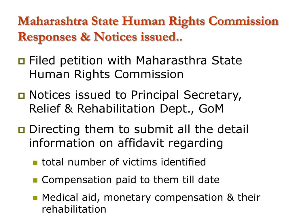 Maharashtra State Human Rights Commission