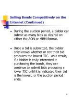 selling bonds competitively on the internet continued2