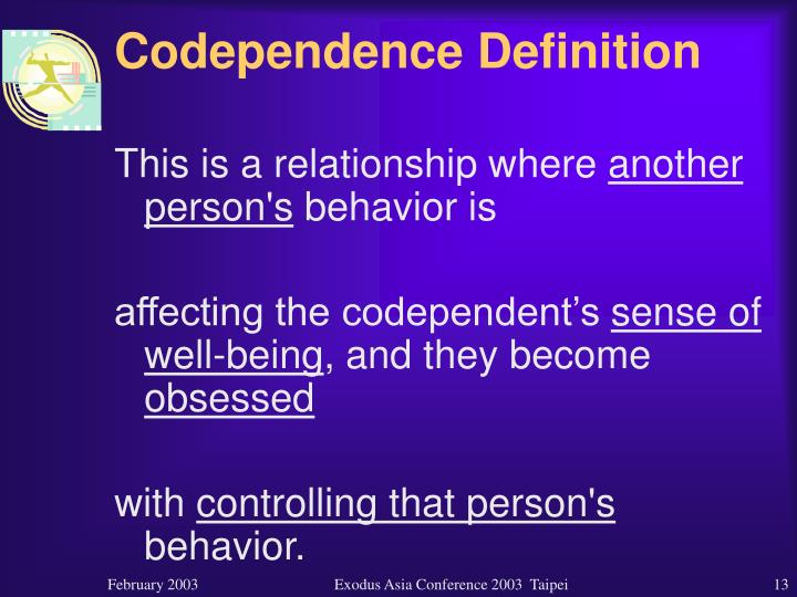 Codependence Definition