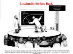 loschmidt strikes back
