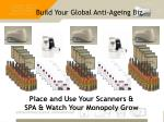 build your global anti ageing biz