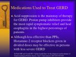 medications used to treat gerd1