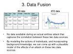 3 data fusion