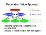 population wide approach
