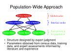 population wide approach1