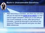martin s unanswerable questions2