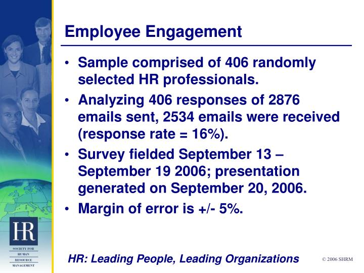 employee engagement n.
