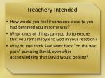 treachery intended1