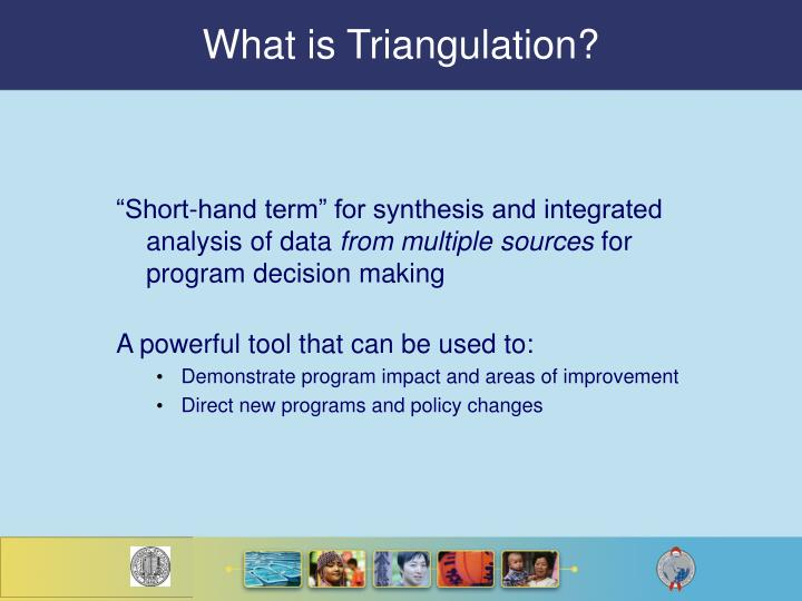 what is triangulation n.