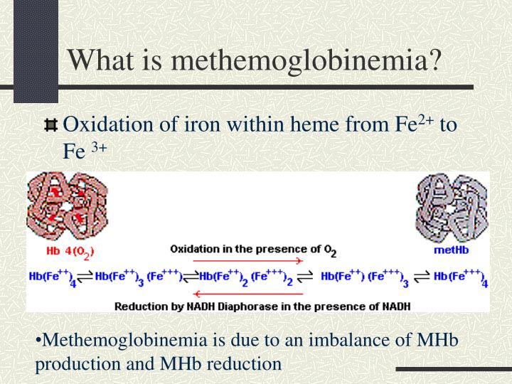 What is methemoglobinemia?