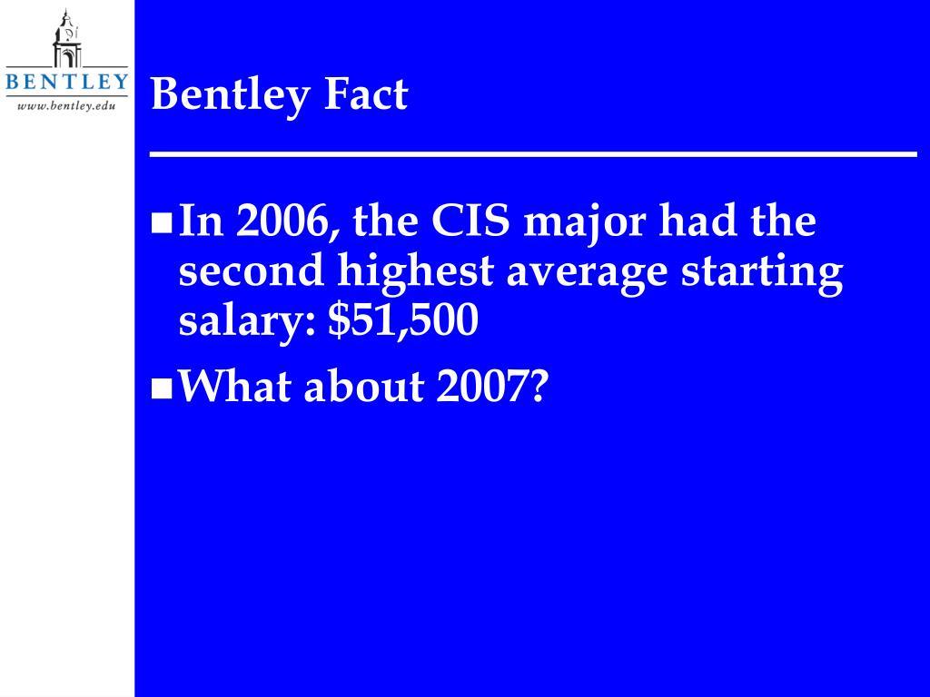 Bentley Fact