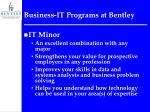 business it programs at bentley18