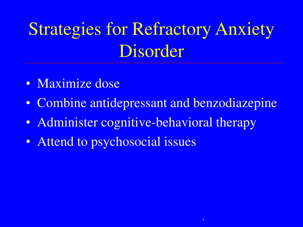 PPT - Prevalence of Anxiety Disorders PowerPoint ...