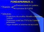 fondaparinux 11