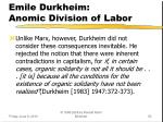 emile durkheim anomic division of labor3