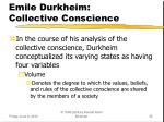 emile durkheim collective conscience3