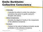 emile durkheim collective conscience4