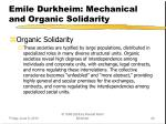 emile durkheim mechanical and organic solidarity2