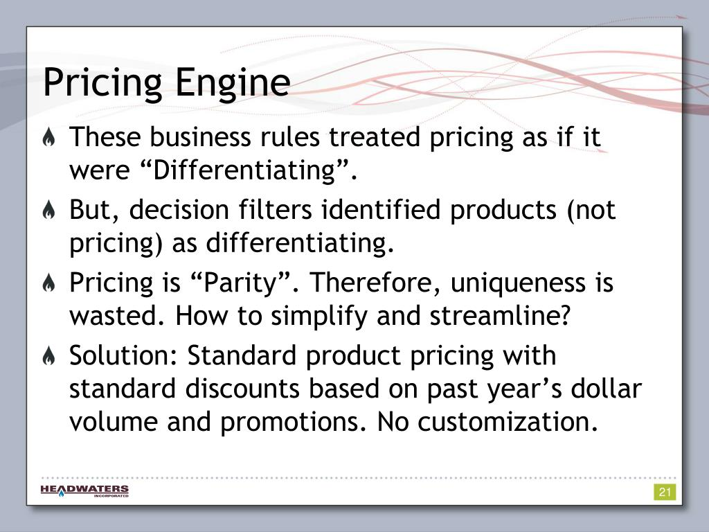 Pricing Engine