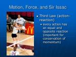 motion force and sir issac2