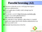 forceful browsing a2