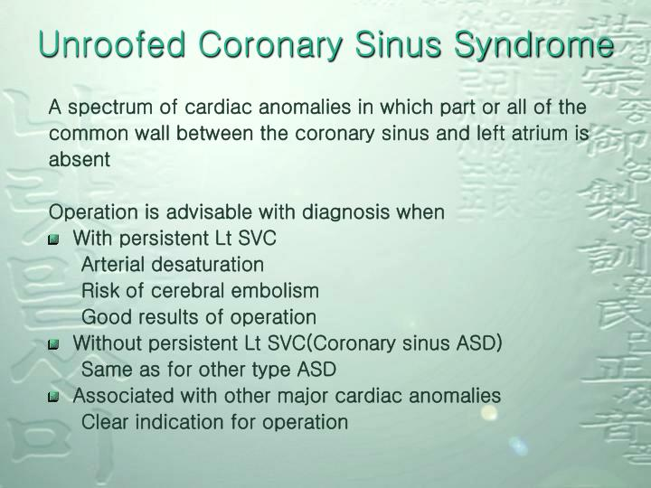 Unroofed Coronary Sinus Syndrome
