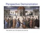 perspective demonstration