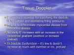 tissue doppler2