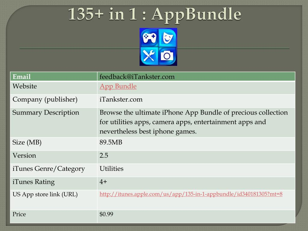 135 in 1 appbundle l.