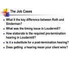 the job cases
