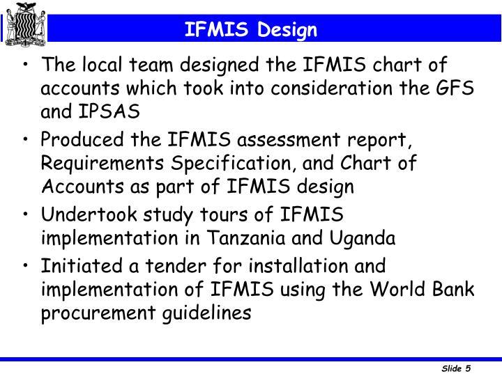 IFMIS Design