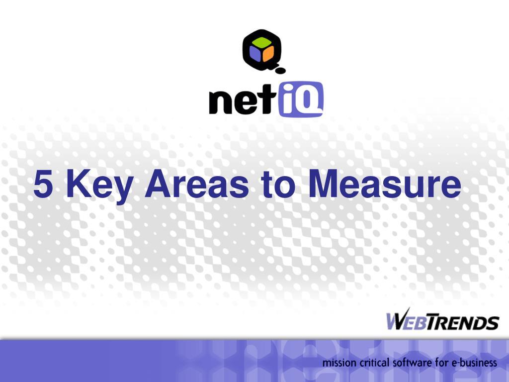 5 Key Areas to Measure