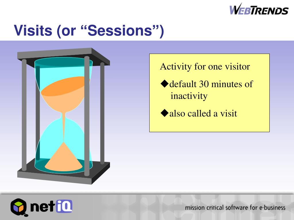 """Visits (or """"Sessions"""")"""