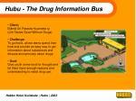 hubu the drug information bus