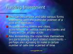 funding investment
