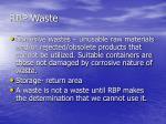 rbp waste1