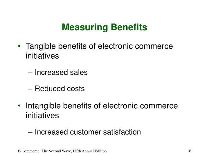 Measuring Benefits