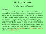 the lord s house5