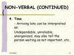 non verbal continued5