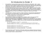 an introduction to zorder 2
