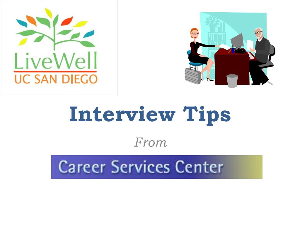 interview tips l.