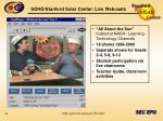 soho stanford solar center live webcasts