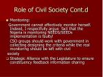 role of civil society cont d1