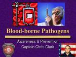 blood borne pathogens