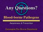 blood borne pathogens2