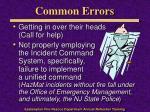 common errors1