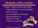 methods of prevention2