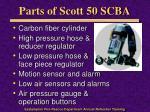 parts of scott 50 scba