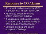 response to co alarms2