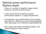 optimal power performance pipeline depth